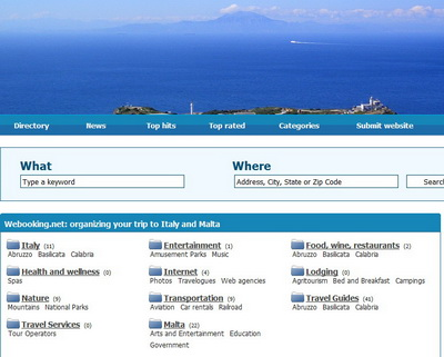 Screenshot webooking.net