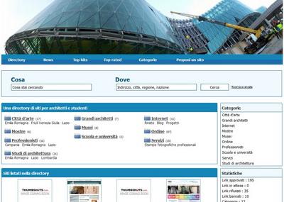 Una directory dedicata all 39 architettura e al design for Software di progettazione di architettura domestica