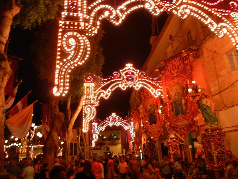 Feste riligiose a Malta a Gozo